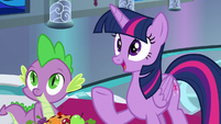 "Twilight ""commemorate your first sunrise"" S8E7"