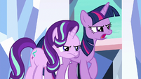 Twilight --get away from the changeling!-- S6E16