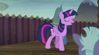 Twilight feeling proud of herself S5E23