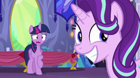 Twilight shocked; Starlight thrilled S6E6