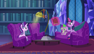 Twilight talking about Snowfall Frost S6E8