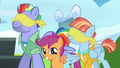 Windy compliments Scootaloo's blindfolding S7E7.png
