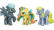 180px-Thunderlane, Derpy and rainbowfied Fluttershy toys