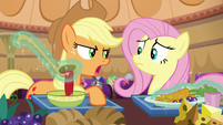 Applejack --those two not bein' friends isn't a problem-- S6E20