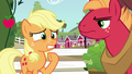 Applejack even more worried; Big Mac disapproves S6E23.png