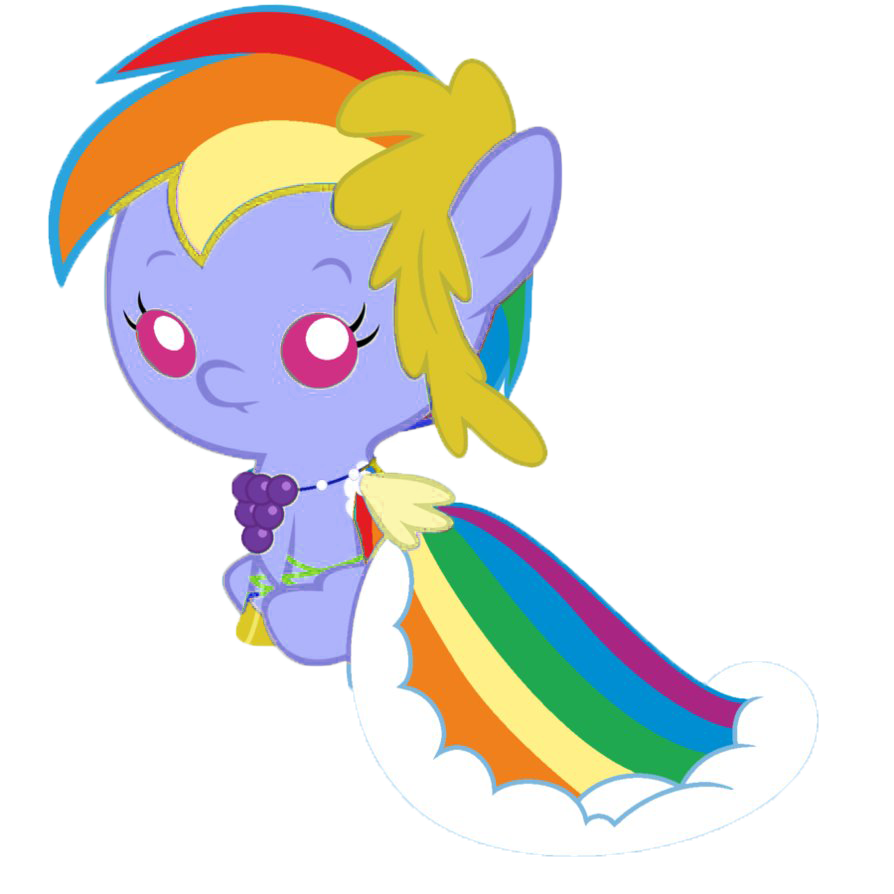 Imagen - Bebe rainbow dash.png | My Little Pony: La Magia de la ...