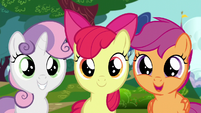 CMC see somepony S6E4