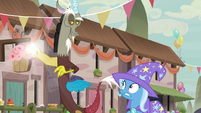 Discord snapping his fingers S6E26