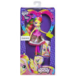 Fluttershy Equestria Girls Rainbow Rocks neon doll packaging