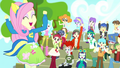 Fluttershy and CHS students cheering SS4.png