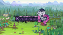 Legend of Everfree logo - Dutch