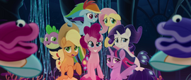 Mane Six starting to get uncomfortable MLPTM