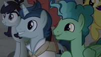More ponies excited to see Flim and Flam S8E16