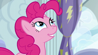 Pinkie Pie --to become a Wonderbolt!-- S6E7