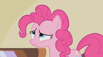 Pinkie Pie disgusted by the parasprite S1E10