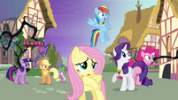 Ponies frightened by the forest S4E2