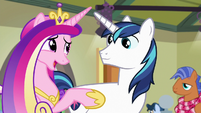 "Princess Cadance ""we're not changing diapers"" S7E3"