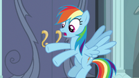 "Rainbow Dash ""Daring Do is real"" S9E21"