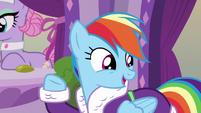 Rainbow Dash --am I right--- S6E10
