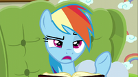 Rainbow Dash --it's the middle of the day-- S6E11