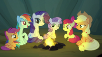 Rainbow Dash -good story, Applejack!- S7E16