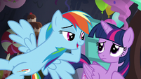 Rainbow claims Pinkie may be more organized than Twilight S5E11