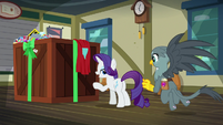 "Rarity ""hit the right apologetic notes"" S9E19"
