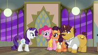 """Rarity """"how many other ponies are coming?"""" S6E12"""