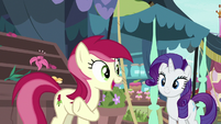 Rose thanks Rarity for her help S7E19