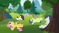 Rumble and campers sit around doing nothing S7E21.png