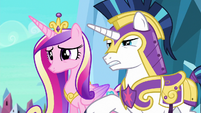 Shining Armor questions Twilight's identity S6E16