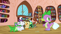 Spike looking for Angel S3E11
