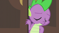 Spike shaking his head S5E10