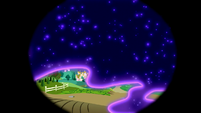 Tantabus blankets all of Ponyville S5E13