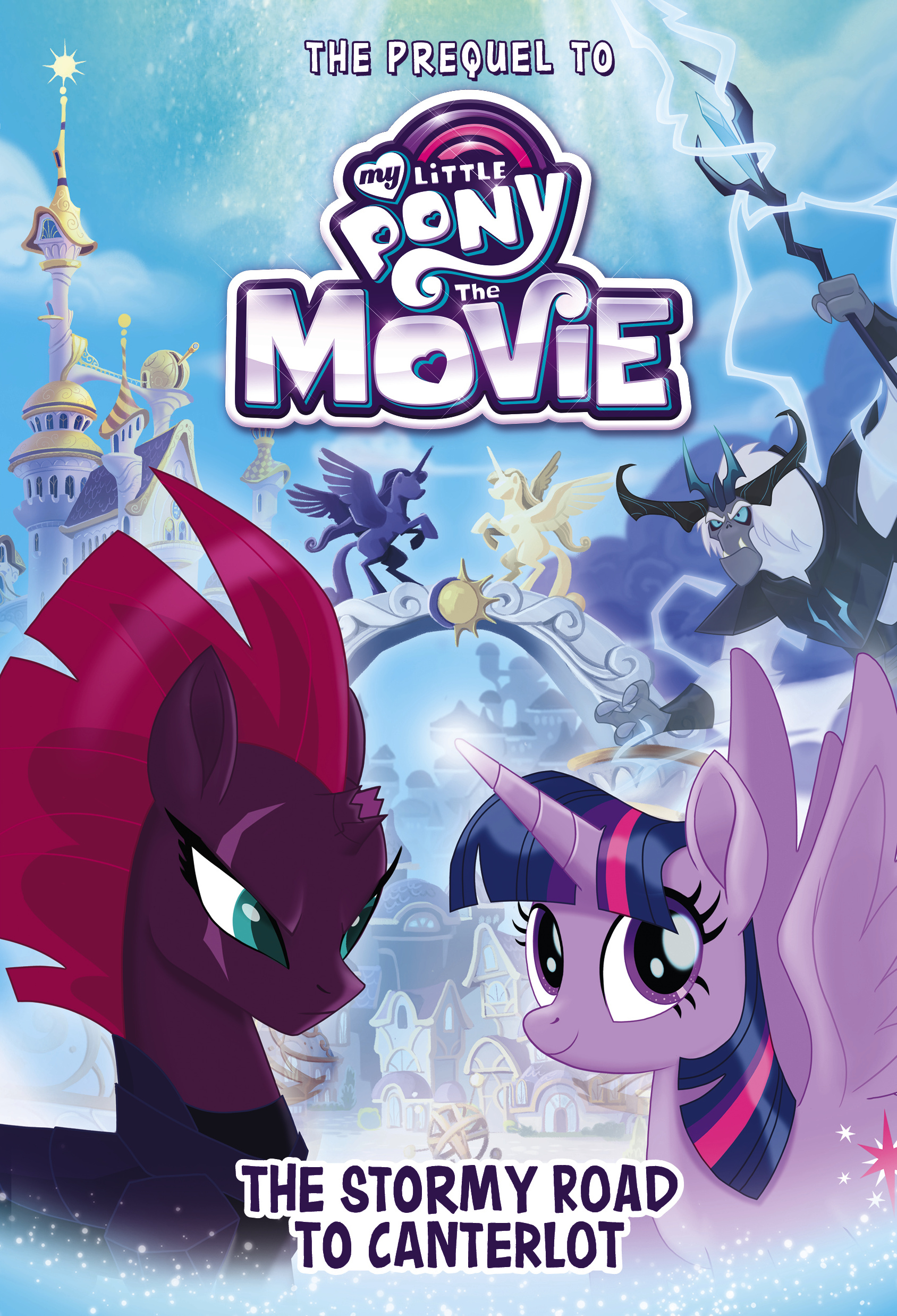 The stormy road to canterlot my little pony friendship - My little pony wikia ...