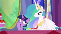 Twilight --don't know where she would've learned that-- S6E6