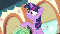 Twilight from the top S3E12