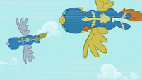Wonderbolts dive S2E10