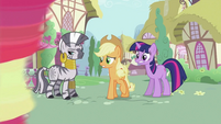 Zecora, Applejack and Twilight S2E06