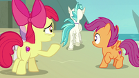 Apple Bloom calling out to Terramar S8E6