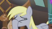 Derpy puts hoof on her face S5E9