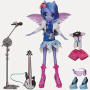 Equestria Girls Through the Mirror Vice Principal Luna doll