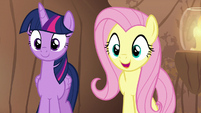 Fluttershy -you're rhyming again!- S7E20