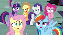 Mane Six gasping with fright S9E2