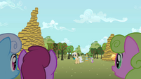Mayor Mare declares Flim and Flam the winners S2E15
