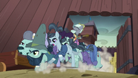 McColts charging out of the fortress S5E23