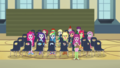 Miss Cheerilee and students looking stunned CYOE2c.png