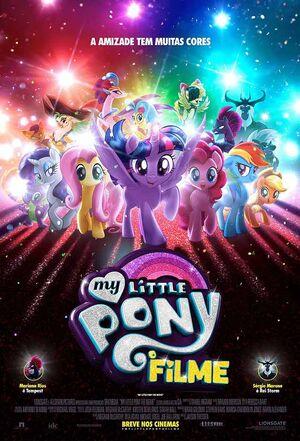 My Little Pony- O Filme Pôster Nacional