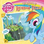 My Little Pony Welcome to Rainbow Falls! storybook cover