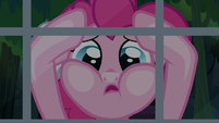 "Pinkie ""shaking her hoof and cursing the heavens"" S7E18"